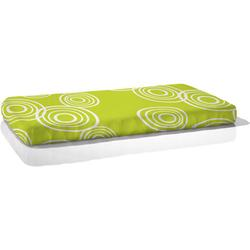 Nook Sleep Systems FIT-PUD-LWN Fitted Crib Sheet in Puddle Lawn (Bright Green)