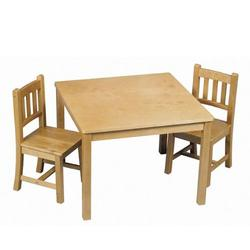 Guidecraft G86402 Mission Table & Chairs Set