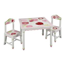 Guidecraft G86102 Sweetie Pie Table & Chairs Set