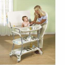 Primo PRI-351W Primo Euro-Spa Baby Bath and Changing Table - White