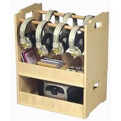 Guidecraft 6430 Stacking Audio Storage Unit