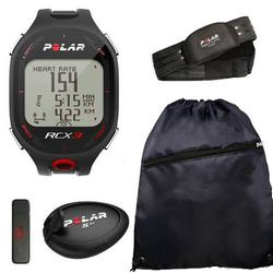 Polar 90042154, RCX3M SD Run in Black with Cinch Bag