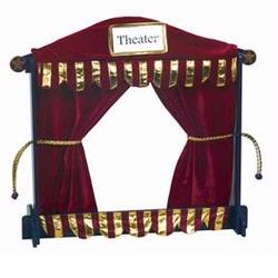Guidecraft 51058 Royal Tabletop Puppet Theater