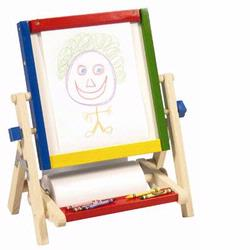 Guidecraft 51086 4-in-1 Flipping Tabletop Easel