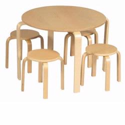 Guidecraft 81045 Nordic Table Set