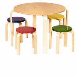 Guidecraft 81046 Nordic Table Set, Color