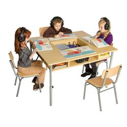 Guidecraft G6472 Audio Center Table