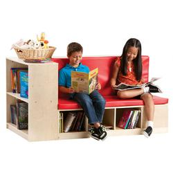 Guidecraft G6475 Modular Library Storage/Seating