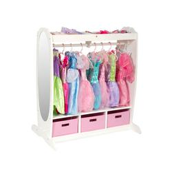Guidecraft G98098, Dress-Up Storage Center: White