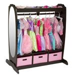 Guidecraft G98099, Dress-Up Storage Center: Chocolate