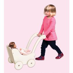 Guidecraft G98124, Doll Buggy - White