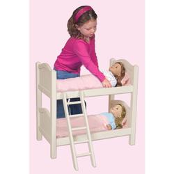 Guidecraft G98127, Doll Bunk Bed - White