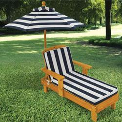 KidKraft 00105 Outdoor Chaise w/ Umbrella