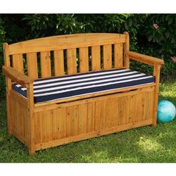KidKraft 00108, Outdoor Storage Bench w/ Cushion