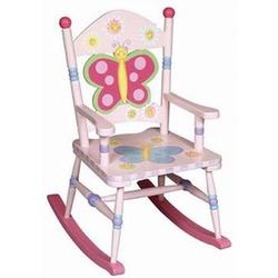 Guidecraft 83361 Butterfly Rocking Chair