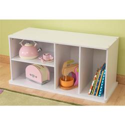 KidKraft 14179, Storage Unit w/Shelves - White