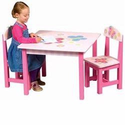 Guidecraft 83362 Butterfly Table & Chairs