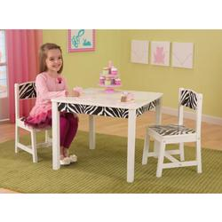 KidKraft 21325, Funky Table & 2 Chair Set