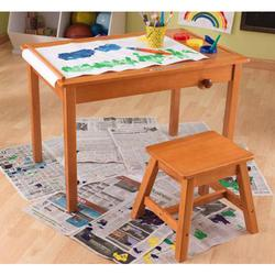 KidKraft 26952, Art Table with Stool