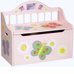Guidecraft 83364 Butterfly Toy Chest