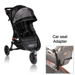 Baby Jogger BJ15210 City Mini GT Single in Black/Shadow with Car Seat Adapter