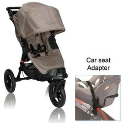 Baby Jogger BJ13257 City Elite Single in Sand with Car Seat Adapter