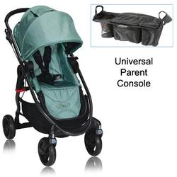Baby Jogger BJ21240 City Versa Stroller in Green With Parent Console