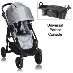 Baby Jogger BJ21212 City Versa Stroller in Silver With Parent Console