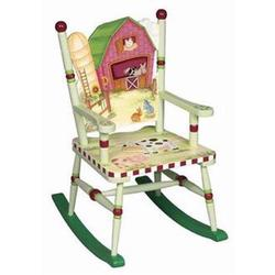 Guidecraft 83561 Little Farmhouse Rocking Chair