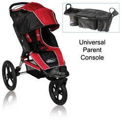 BabyJogger BJ80633 Summit XC Single Jogging Stroller in Red/Blk w/Parent Console