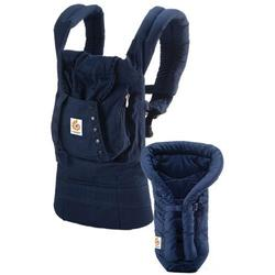 Ergo Baby BCII12TOMNL, Bundle of Joy Organic Carrier and Insert - Navy