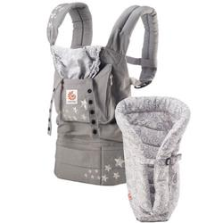 Ergo Baby BCII2EPNL, Bundle of Joy Original Carrier and Insert - Galaxy Grey