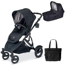 Britax U281797, B-Ready Stroller and Bassinett with Diaper Bag - Eclipse