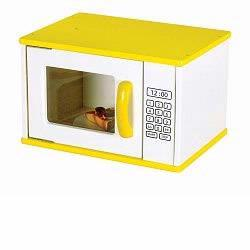 Guidecraft 97265 Color Bright Kitchen Microwave