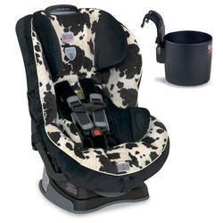 Britax Pavilion G4 Convertible Car Seat w/Cup Holder - Cowmooflage