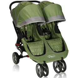 Baby Jogger 12240 City Mini Double Stroller, Green-Gray