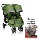 Baby Jogger 12240 City Mini Double Stroller In Green Gray