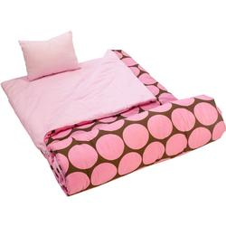 Wildkin 17085 Big Dots Pink Sleeping Bag