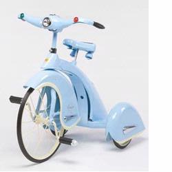 Airflow Collectibles TSK004 Skyking Tricycle, Blue