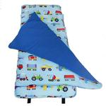 Wildkin 28079 Olive Kids Trains, Planes and Trucks Nap Mat