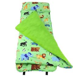 Wildkin 28080 Olive Kids Wild Animals Nap Mat