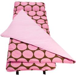 Wildkin 28085 Big Dots Pink Nap Mat
