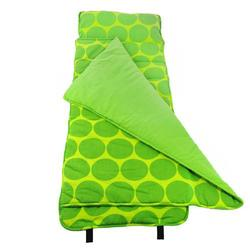 Wildkin 28086 Big Dots Green Nap Mat