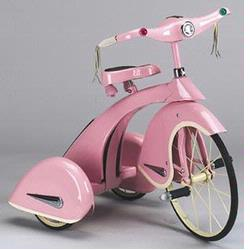 Airflow Collectibles TSK003 Sky Princess Tricycle, Pink