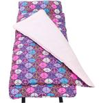 Wildkin 28212 Peace Signs - Purple Nap Mat