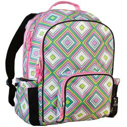 Wildkin 32115 Pink Retro Macropak Backpack