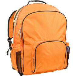 Wildkin 32542 Bengal Orange Macropak Backpack - Monogram version