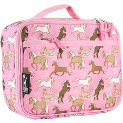 Wildkin 33020 Horses in Pink Lunch Box