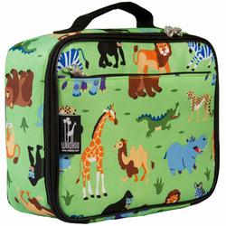 Wildkin 33080 Olive Kids Wild Animals Lunch Box