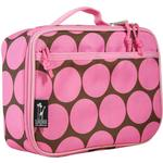 Wildkin 33085 Big Dots Pink Lunch Box